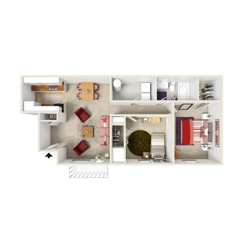 floor-plans-bainbridge-park-apartments-for-rent-in-canton-mi-1